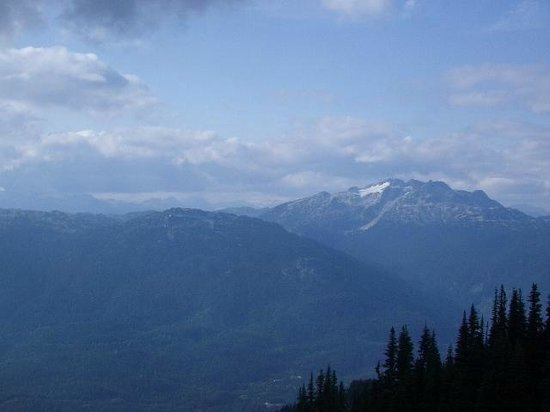 Funicular Peak 2 Peak: View from Gondola