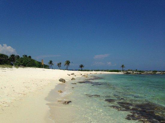 Grand Sirenis Riviera Maya Resort & Spa : Lovely quiet beach