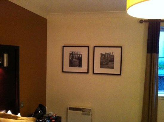 Oban Bay Hotel: vue chambre