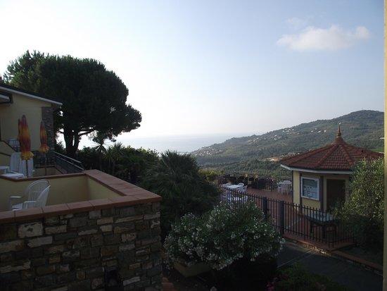 Hotel Liliana: panorama dalla terrazza