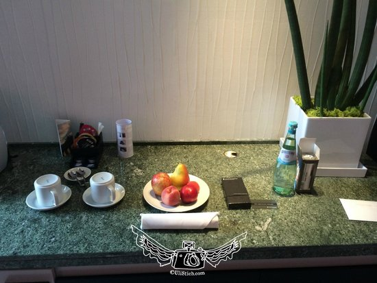 InterContinental Berlin: welcome gift