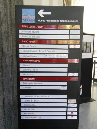 National Archaeological Museum of Naples: We're half closed but still open.