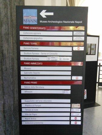 Musée archéologique national de Naples : We're half closed but still open.