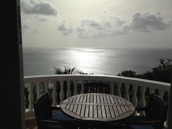Windjammer Landing Villa Beach Resort: View from the kitchen