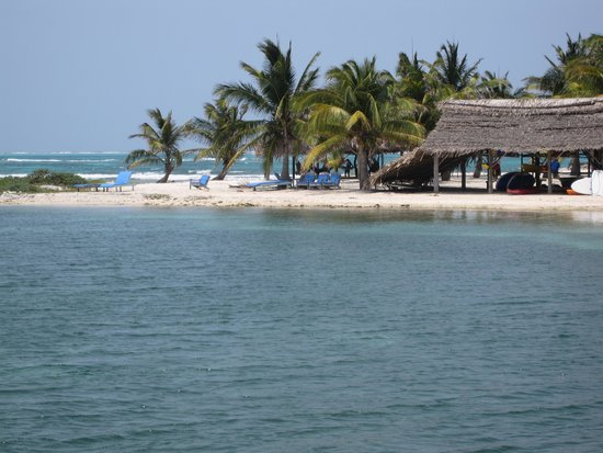 Long Caye Resort: Ahh....life is great at Adventure Island!