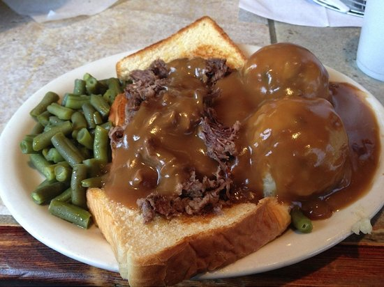 Lincoln County Grill : Pot Roast Sandwich