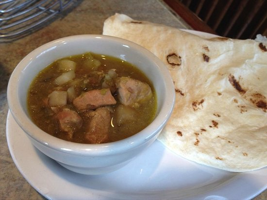 Lincoln County Grill : Green Chile Stew