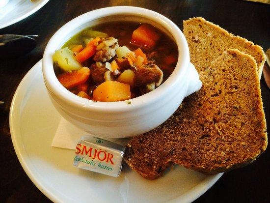 Alafoss Cafe : Icelandic Meat Soup