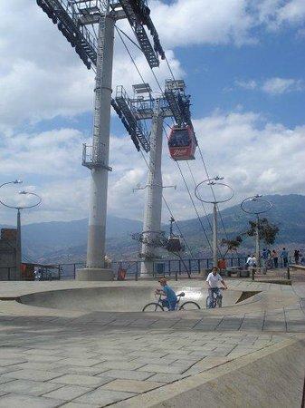 Medellin Metrocable: Mejor el entorno