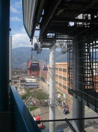 Medellin Metrocable: muy seguro