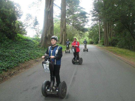 Electric Tour Company Segway Tours: Parcours dans le Golden Gate Park