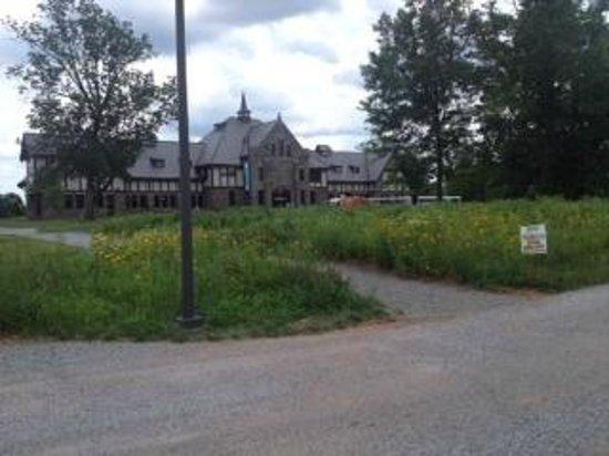 Duke Farms : Visão do prédio principal (lanchonete)