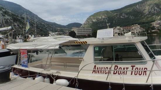 Bay of Kotor: Antika boat tour boat can be found at this location