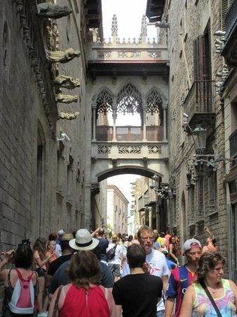 Barrio Gótico: gothic quarter