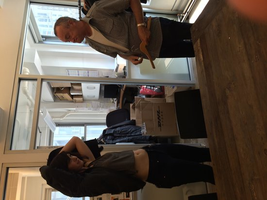 Urban Oasis Shopping Tour Day Tours: An aspiring model shopping one of our showrooms