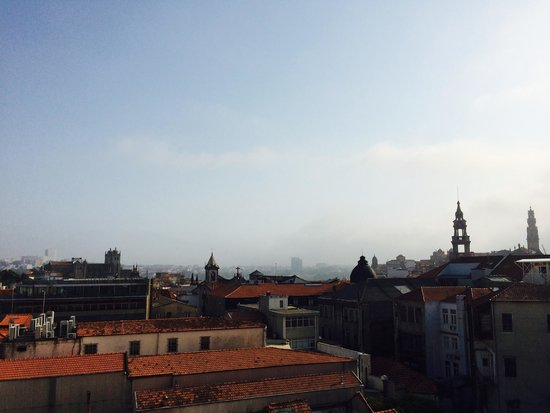 Rivoli Cinema Hostel: View from the rooftop terrace.