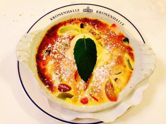 Kronenhalle: Dessert  (the best on earth)