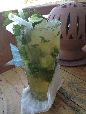Caribbean Bar : 1liter cocktails.....