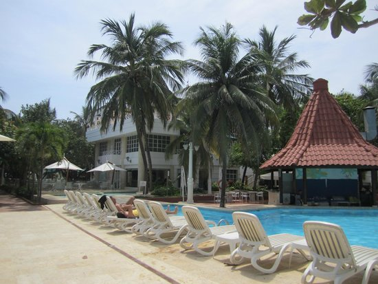 Hotel Las Américas Casa de Playa : Bara da piscina