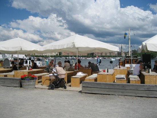 Restaurant Hjerta: Seating area