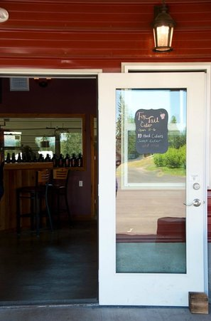 Fox-Tail Cider: Entrance to Fox Tail
