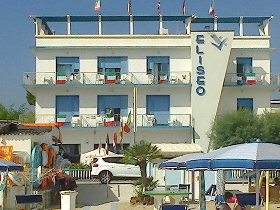 Hotel Eliseo : vista dell'hotel