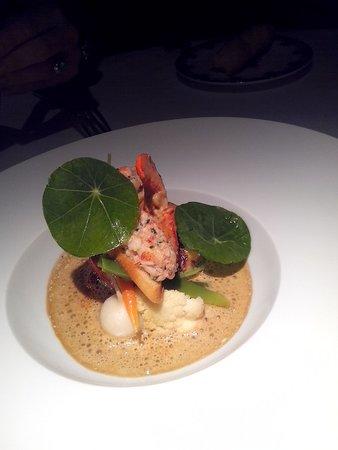 Restaurant Clair de Plume Gastronomique : homar bleu un Regal !!!!!