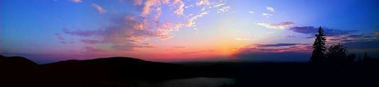 Park Loop Road : Sunset on Cadillac Mountain