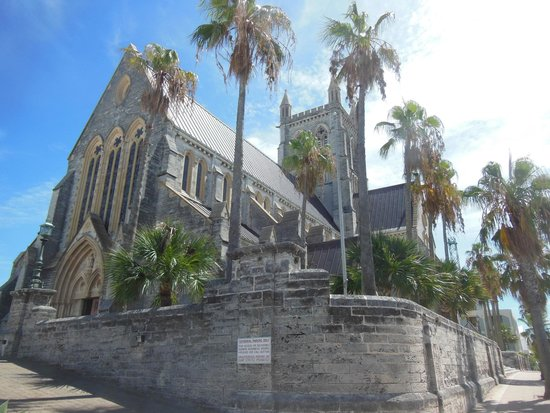Cathedral of the Most Holy Trinity (Bermuda Cathedral): The Cathedral's tower is 140 feet high
