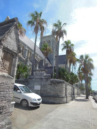Cathedral of the Most Holy Trinity (Bermuda Cathedral): The Gothic Cathedral wasn't finished until 1991