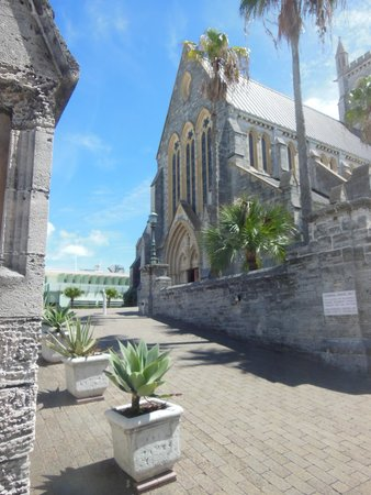 Cathedral of the Most Holy Trinity (Bermuda Cathedral): The Cathedral is about three block uphill from the harbor