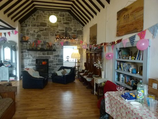 Galway Glamping: The church
