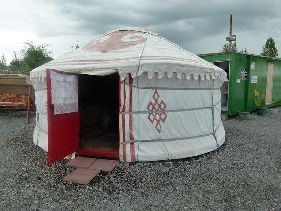 Galway Glamping: Yurt