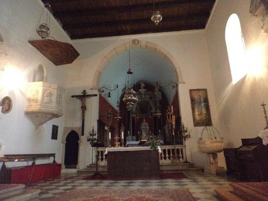 St. Nikola Church: The church interior