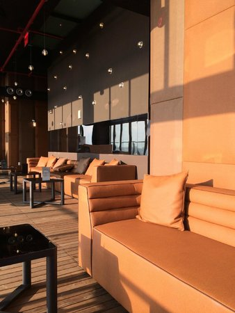 Hotel Hugo : New Rooftop area for