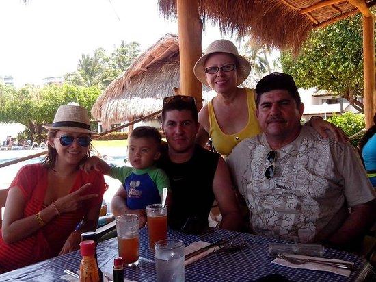 Vamar Vallarta All Inclusive Marina and Beach Resort: En el restaurante de Mariscos, Deliciiosos!