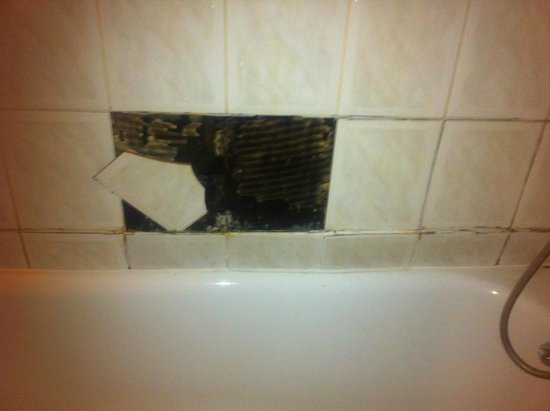 Ascot Hyde Park Hotel : wall tile fell off when having shower