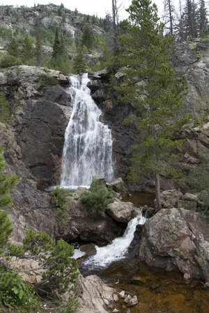 Fish Creek Falls : The Falls from the hike up