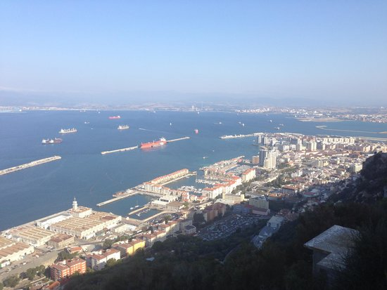 Rock Hotel Gibraltar: View from hotel room