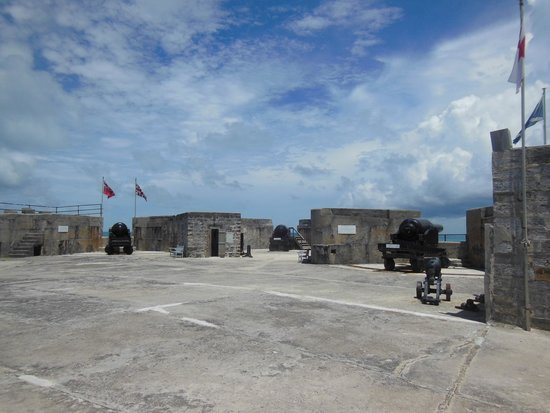Fort St. Catherine: The Parade Ground of the Fort is actually quite expansive