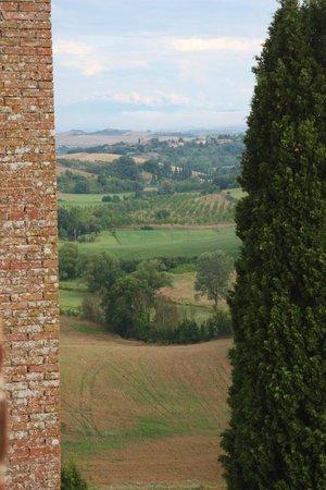 Castello delle Quattro Torra: View from the room