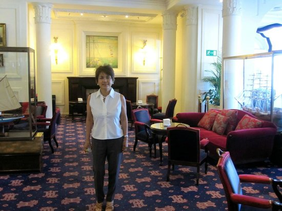 Hotel de Londres y de Inglaterra: hotel guest lounge area