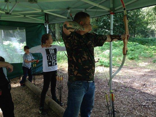 Umberslade Adventure: Archery!