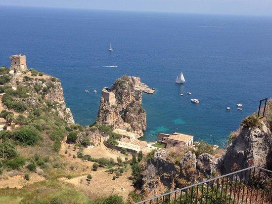 Veduta dalla terrazza del ristorante - Picture of La Terrazza ...