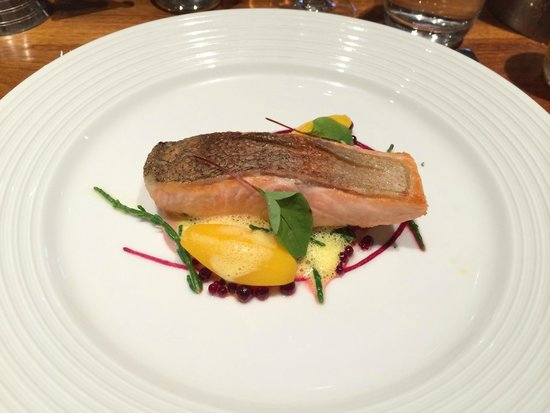 Russell's of Broadway: Pan fried Sea Trout main