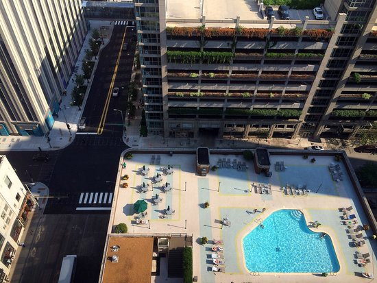 pool on 5th floor picture of doubletree by hilton. Black Bedroom Furniture Sets. Home Design Ideas