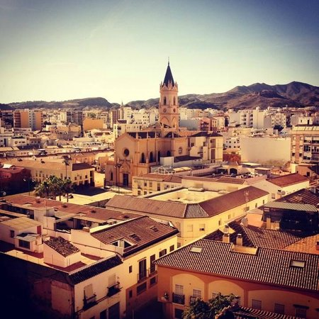 Salles Hotel Malaga Centro: The view from our hotel room