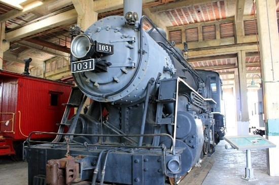 North Carolina Transportation Museum: big trains