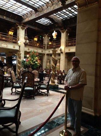 The Historic Davenport, Autograph Collection: Atrium lobby