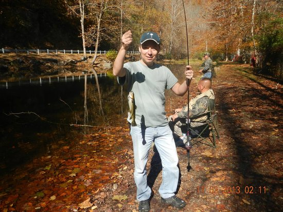 Cherokee / Great Smokies KOA: Trout..trout...trout